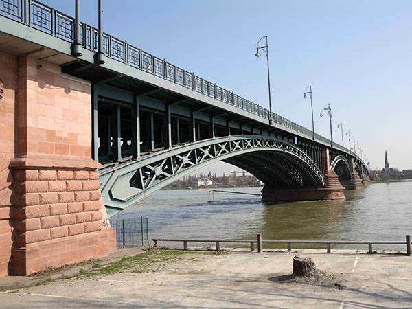 Theodor Heuss Bridge, Mainz